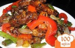Фото рецепта: «Говядина по-китайски с овощами»
