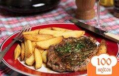Фото рецепта: «Стейк из говядины рибай»