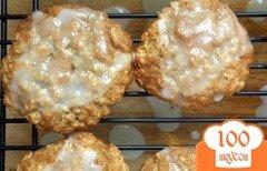 Фото рецепта: «Лимонно-овсяное печенье»