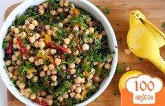 Фото рецепта: «Салат с нутом»