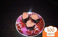 Фото рецепта: «Гунканы с семгой»