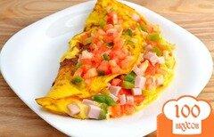 Фото рецепта: «Омлет по-мексикански»