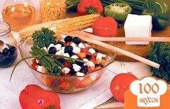 Фото рецепта: «Салат греческий с брынзой»