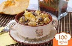 Фото рецепта: «Орзотто с шампиньонами и тыквой»