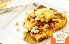 """Фото рецепта: «Гавайский """"французский"""" тост»"""
