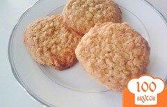 Фото рецепта: «Овсяное печенье с орехами»