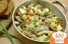 Фото рецепта: «Салат с сельдью и морковью»