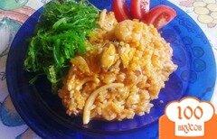 Фото рецепта: «Рис с морепродуктами»