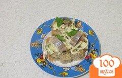 Фото рецепта: «Бутерброд с селедкой»