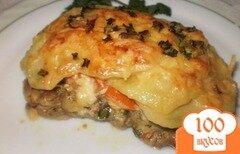 Фото рецепта: «Мясо запеченное в духовке с картофелем»