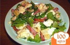 Фото рецепта: «Салат с омлетом»