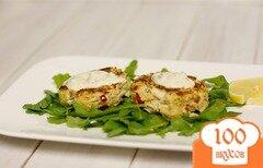 Фото рецепта: «Крабовые котлеты с соусом ремулад»