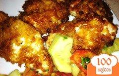 Фото рецепта: «Куриное филе в хлопьях»