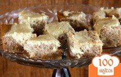 Фото рецепта: «Кофейный пирог со сливочным сыром»