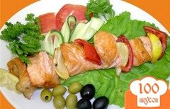 Фото рецепта: «Шашлык из рыбы»