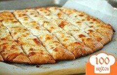 Фото рецепта: «Хлебные палочки с сыром»