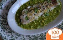 Фото рецепта: «Скумбрия на пару с овощным соусом»