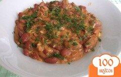 Фото рецепта: «Лобио из фасоли с мясом»