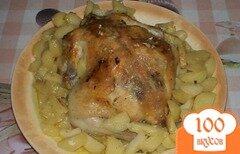 Фото рецепта: «Курица с картофелем в рукаве»