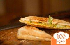 Фото рецепта: «Тосты с капустой»