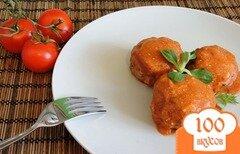 Фото рецепта: «Тефтели из говядины с рисом»