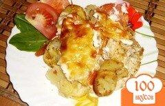 Фото рецепта: «Курица по-французски с картошкой»