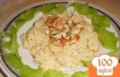 Фото рецепта: «Пшеничная каша с курочкой»