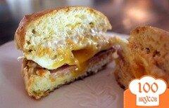 Фото рецепта: «Бисквитные сэндвичи»