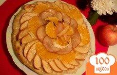 Фото рецепта: «Пицца фруктовая»