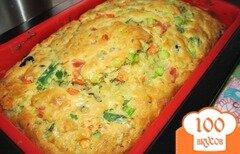 Фото рецепта: «Английский хлеб-кекс с овощами»