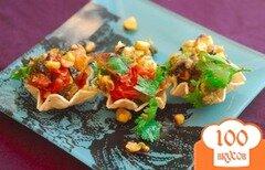 Фото рецепта: «Сальса из овощей, поджаренных на гриле»