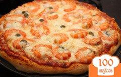 Фото рецепта: «Пицца с креветками»