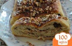 Фото рецепта: «Домашний хлеб с корицей»
