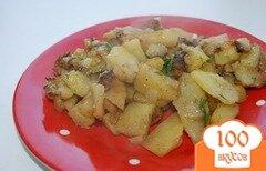 Фото рецепта: «Гарнир из картошки в мультиварке»