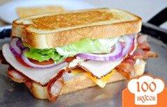 Фото рецепта: «Клубный сэндвич»