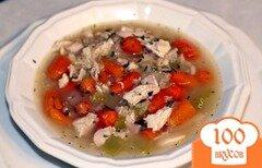 Фото рецепта: «Куриный суп с киноа»