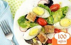 Фото рецепта: «Салат с апельсиновым соком на завтрак»