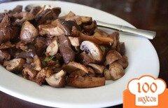 Фото рецепта: «Жареные грибы в красном вине»