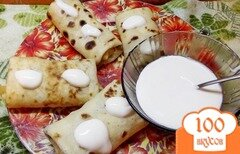 Фото рецепта: «Блинчики с куриным паштетом»