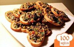 Фото рецепта: «Кростини с оливками»