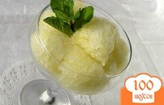 Фото рецепта: «Лимонно-лаймовый сорбет»