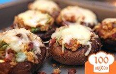 Фото рецепта: «Фаршированные грибы»
