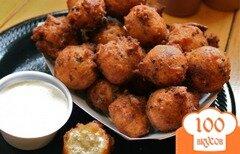 Фото рецепта: «Кукурузные шарики с перцем халапеньо»