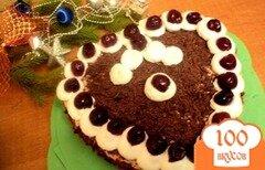 Фото рецепта: «Торт «Вишня в шоколаде»»
