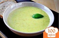 Фото рецепта: «Картофельный суп с сельдереем и базиликом»