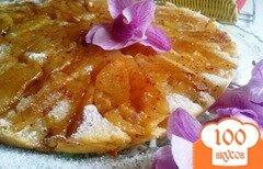 Фото рецепта: «Ароматный шведский заварной яблочный пирог»