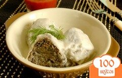 Фото рецепта: «Грибные крокеты в сметанном соусе»