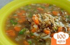 Фото рецепта: «Грибной суп для похудения»