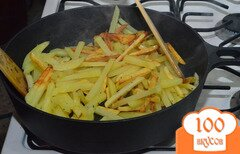 Фото рецепта: «Жареная картошка»