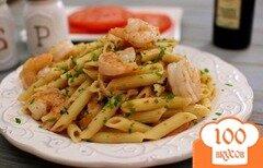 Фото рецепта: «Томатная паста с креветками»